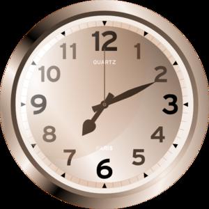 Analog Clock Clip Art At Clker Com Vector Clip Art
