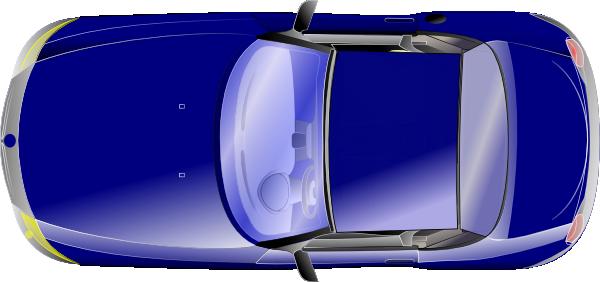 Car Top View Clip Art At Clker Com Vector Clip Art