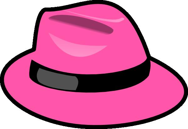 Pink Hat Clip Art at Clker.com - vector clip art online ...
