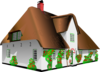 Cottage House Clip Art