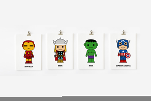 cute avengers background free images at clkercom