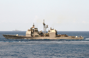 The Guided Missile Cruiser Uss Cowpens (cg 63) Image