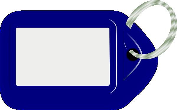 Blue Key Ring Clip Art at Clker.com - vector clip art online, royalty free & public domain
