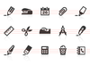 0008 Office Supply Icons Image