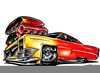 Muscle Car Clipart Free Image