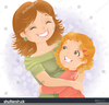 Mother Holding Baby Clipart Image