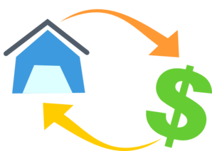 Mortgage (no Shadow) Clip Art