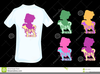 Free Tee Shirt Clipart Image