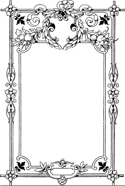 Clipart Cadre Oriental Free Images At Clker Com Vector Clip Art Online Royalty Free Public Domain