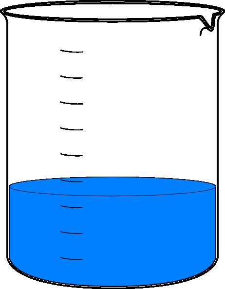 beaker clip art at clker com vector clip art online empty glass of water clipart glass of water image clipart