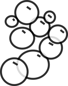 Bubbles Clip Art at Clker