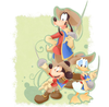 Goofy Musketeer Clipart Image