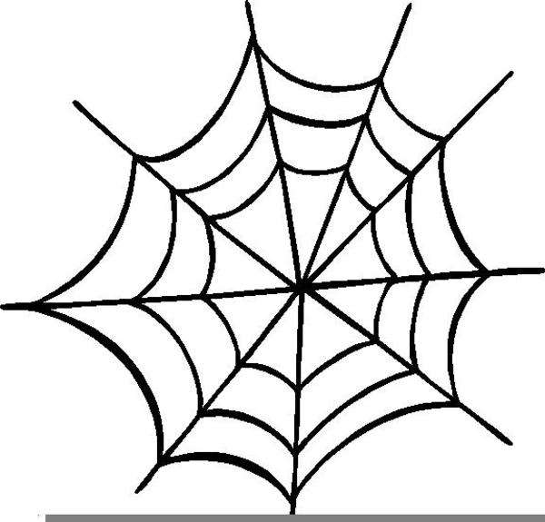 Clipart Halloween Spider Webs Free Images At Clker Com