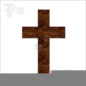 Wooden Cross Clipart Image