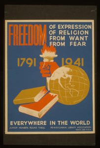 Freedom Of Expression, Of Religion, From Want, From Fear Everywhere In The World Image