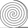 Perfect Spiral Clipart Image