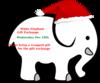Sunshine Elephant Ellie Clip Art at Clker.com - vector ...