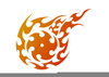 Free Tribal Flame Clipart Image