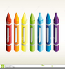 Color Crayons Clipart Image
