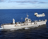 The Amphibious Command Ship Uss Mount Whitney (lcc 20) Underway Image