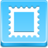 Free Blue Button Icons Postage Stamp Image