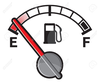 Gas Pump And Fuel Gauge Clipart Image
