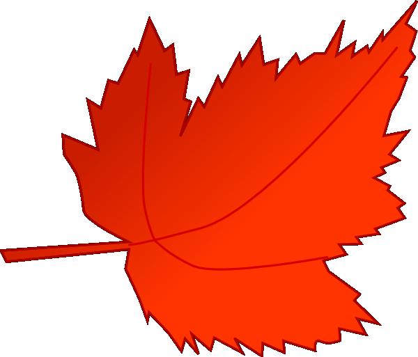 Maple Red Leaf Clip Art At Clker Com Vector Clip Art