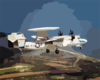 E-2c Hawkeye Np2000 Test Flight Clip Art