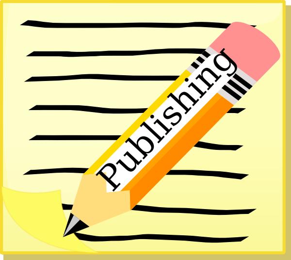 Publish Writing Clipart