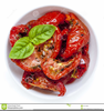Dried Tomato Clipart Image