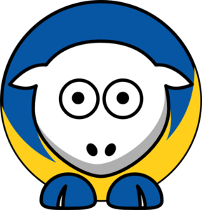 Sheep - Hofstra Pride - Team Colors - College Football Clip Art