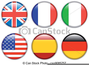 Free Country Flags Clipart Image