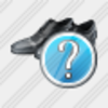 Icon Mans Shoes Question Image