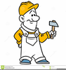 Clipart Man With Hammer Image