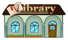 Library Drawing Clipart Image