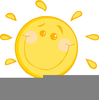 Cartoon Sunshine Clipart Image