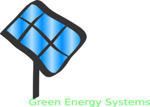 Green Energy Systems Clip Art