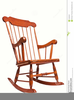 Animated Rocking Chair Clipart Image