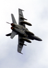 N F/a-18c Hornet Makes A Tight Turn In Full Afterburner While Conducting A Fly-by Over Uss Constellation (cv 64) During Practice For Constellation Image