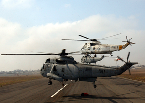 Several Uh-3h Sea King Helicopters Depart Montgomery Field Image