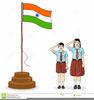 Animated Indian Flag Clipart Image