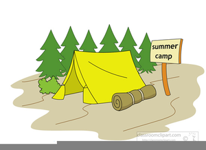 Free Clipart Summer Camp Image
