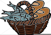 Free Clipart Loaves And Fishes Image