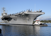 Uss Nimitz (cvn 68), Makes A Port Visit In Pearl Harbor Before Continuing On Her Scheduled Deployment Image