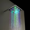 Chrome Finish Contemporary Multi Color Led Shower Head--faucetsuperdeal.com Image