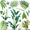 Clipart Green Leaves Border Image
