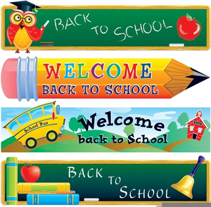 Free Back To School Supplies Clipart Image