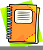 Assignment Notebook Clipart Image