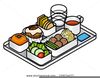 Free Clipart Cafeteria Tray Image