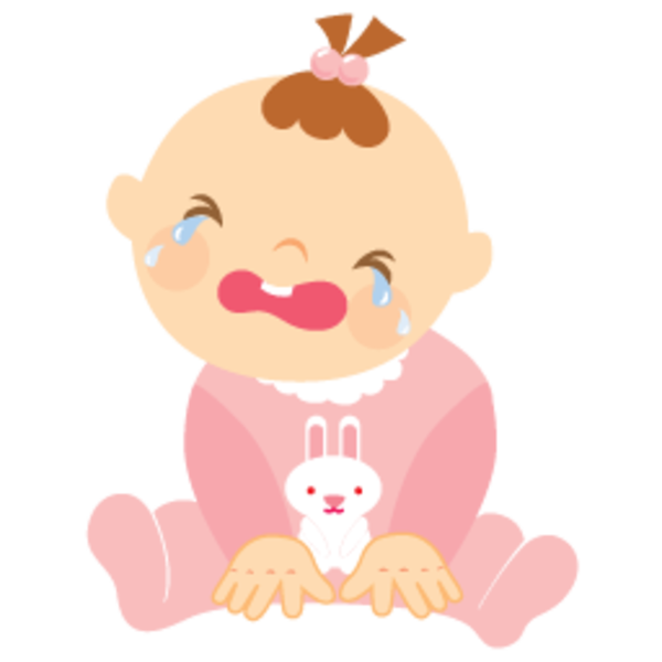 Baby Girl Crying 256 | Free Images at Clker.com - vector ... Baby Girl Crying Animation